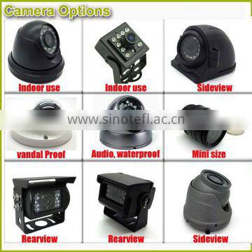 Vandal proof AHD camera 720P 1080P for vehicles mdvr recording