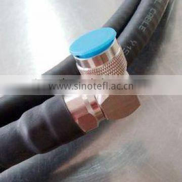 Top quality n male to n male plug to plug connector 1/2 feeder cable clamp jumper