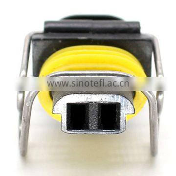 2 pin electrical waterproof pa66 female connector and terminal