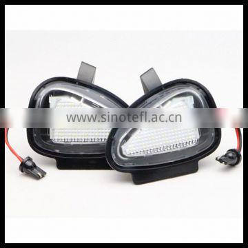 china top ten selling products led side under mirror lamp led puddle lights lamp for vw golf 6