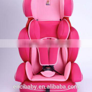 Vehicle High Quality Pink Child Safety Seat