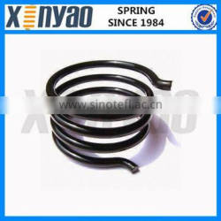 carbon torsion spring with electronic coating