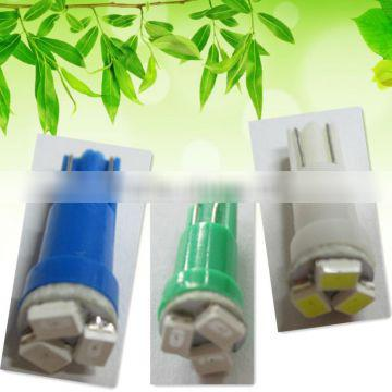 T5 3 SMD3020 green blue white automobile bulbs Auto Lighting System LED light LED lamp