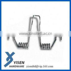 oem nickel-plated small torsion spring for sale