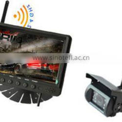 RV-7008-1WS 2.4GHZ Wireless Car Parking Sensor System with 7 Inch LCD Monitor