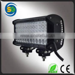 Warranty 2 year IP68 12V-30V 12Inch Vehicle 144W Qual Row Combo ATVs led light bar
