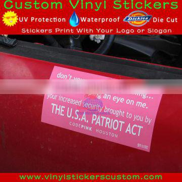 Stonedoing S34 customized removable vinyl window decals for cars