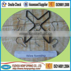 clip wire forming springs