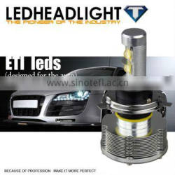 Waterproof top quality 6-32 volt h4 hi lo beam 3000LM 30w led h4 motorcycle headlight