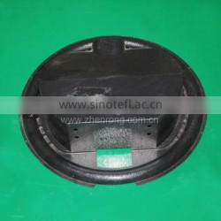 Custom shape thick thermoforming plastic ABS black cover
