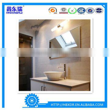 China aluminum factory high quality aluminum frame profile for bathroom wall mounting mirror