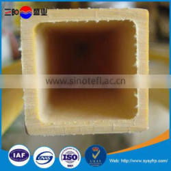 Smooth surface treatment and application frp pipe, frp tube, frp square tube