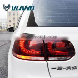 CE CCC Emark certification car lights car accessories vw golf 6 led tail light factory Quality Choice