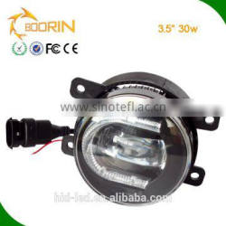 new products auto spare parts DRL daytime running 30w 3.5 inch led fog light/fog lamp/car headlamp