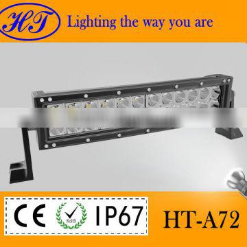 Hotsale 72w LED light bar 9-32V DC,12V Voltage and hid xenon work light Type led driving light