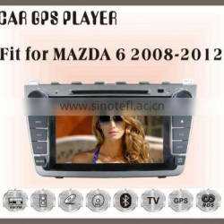 Fit for Mazda6 2008-2012 CAR DVD BLUETOOTH TV GPS NAVIGATION IPOD 3G/WIFI PLAYER