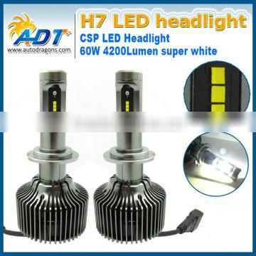 30W 6000K White LED Headlight Kit P7 CSP Chip Bulb Fog Lamp High Power