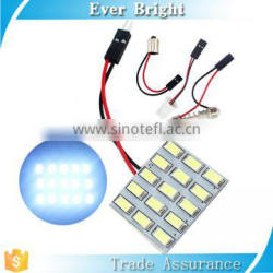 Festoon T10 type panel led 5730 15SMD china led panel light price