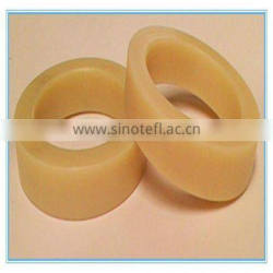 Colored polyurethane rubber ring