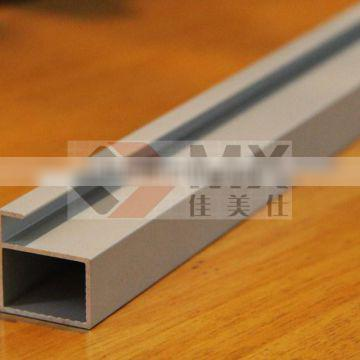 silver anodized aluminium kitchen cabinet door profile high quality