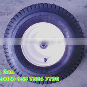 turf tires / lawnmower rubber wheels 13x6.50-6