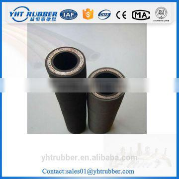 braided oil resistant hydraulic rubber hose assembly