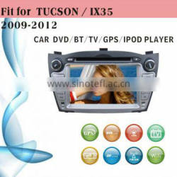 touch screen car dvd player fit for Hyundai Tucson IX35 2009 - 2012 with radio bluetooth gps tv