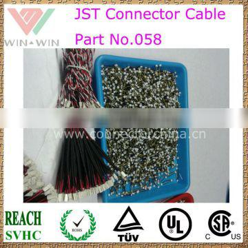Part No 058 JST Connectors' Cable Assembly