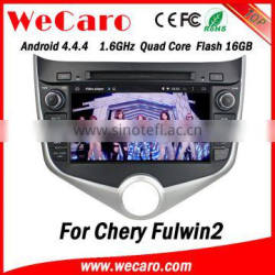 Wecaro WC-MC8029 Android 4.4.4 car dvd player 2 din navigation for chery fulwin2 TV tuner