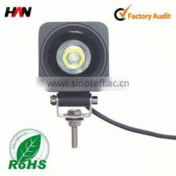 High power 10-watt 12v led truck work lights