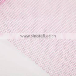 2015 Best Selling Hot Chinese Products Dress Accessories Red Honeycomb Mesh Fabric