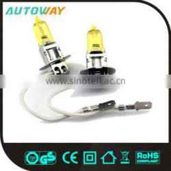 12V 55W Yellow Car Headlight Bulbs
