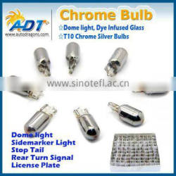 t10 194 car halogen chrome lamp, Side Marker Light