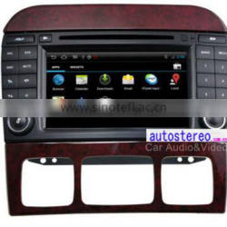 Autostereo Car DVD Player for Mercedes S-Class(W220) GPS Navigation with Canbus/Ipod/BT/WIFI / Free Map Car Multimedia System