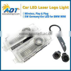 LED Car door courtesy laser projector, Logo Ghost Shadow Light For BMW mini