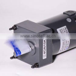 Customized 80mm 127nm 24v 40w 3000rpm carbon brush dc torque motor with encoder