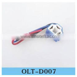 auto spare parts similarity H4 ceramic serires connectors plug ,with wires and connevtors factory prices with high quality
