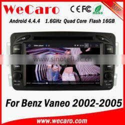 Wecaro WC-MB7507 Android 4.4.4 touch screen for Benz vaneo car radio gps 2002 - 2005 mirror link