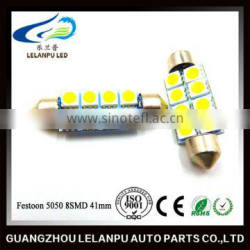 12V Festoon Car interior lamp Festoon 5050 8smd roof light auto led light reading lamp