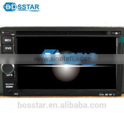 Universal double din 6.5inch touch screen wince 6.0 car dvd mp4 gps stereo player with bluetooth tv fm am rds radio