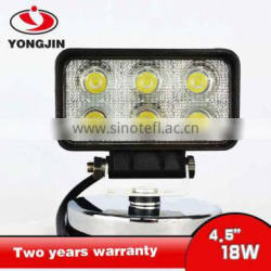 18W led working lamp for forklift