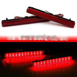 DC 12V Car Led Tail Light Bulbs Rear Bumper Reflector Lamp for Daihatsu MOVE
