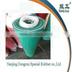 2mm thick Green colour rubber sheet