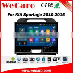 Wecaro WC-KS1006 10.2 inch android 4.4/5.1 touch screen car dvd gps for kia sport 2010 - 2015 With Wifi 3G GPS RDS navigation