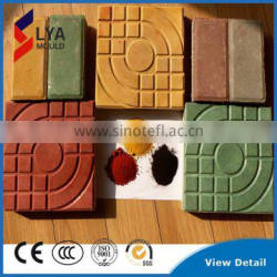 New Fashion Durable PP ABS PVC Mould For Making Garden Pathway Concrete Tiles Stone Decoration Shapes