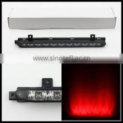 Clear Lens Red strobe 10 LED High Mount Third 3rd Brake Light For MINI Cooper R56 R57 R58 R60 OEM tail led brake light lamp