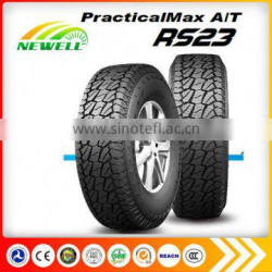 Free Sample Passenger Car Tire 31x10.5R15 Tire