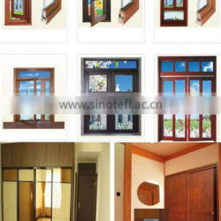 High quality hot sale aluminum extrusion profile windows and doors with different colours and open styles