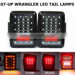 Auto Accessories Parts 07-16 Jee-p Wrangler JK led tail light 4x4 off road running turn brake reverse rear lamp