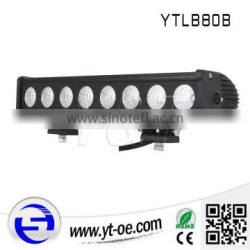 Made in china 80 Watt single row led light bar led strip off road led light bar waterproof for SUV UTV truck